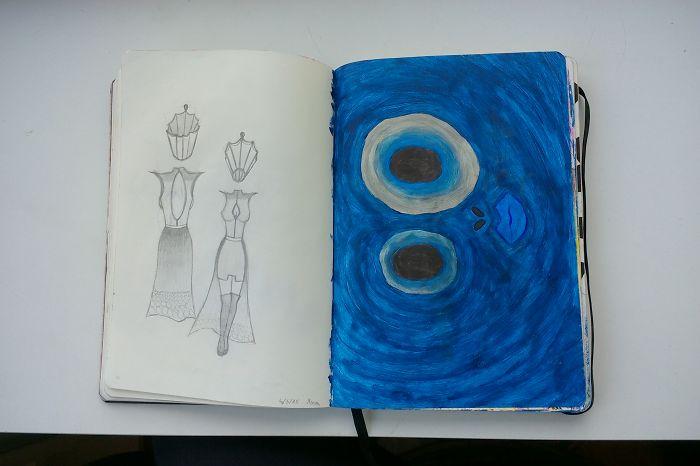 I Draw Various Random Things In My Sketchbook (page 70-79)