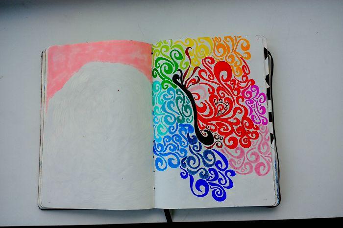 I Draw Various Random Things In My Sketchbook (page 80-89)