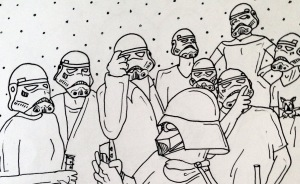 I Drew A Scene From 'One Flew Over The Cuckoo's Nest' In 12 Different Ways
