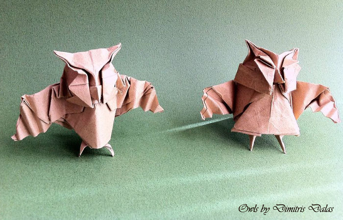 I Folded Two Owls So They Wouldn't Feel Lonely