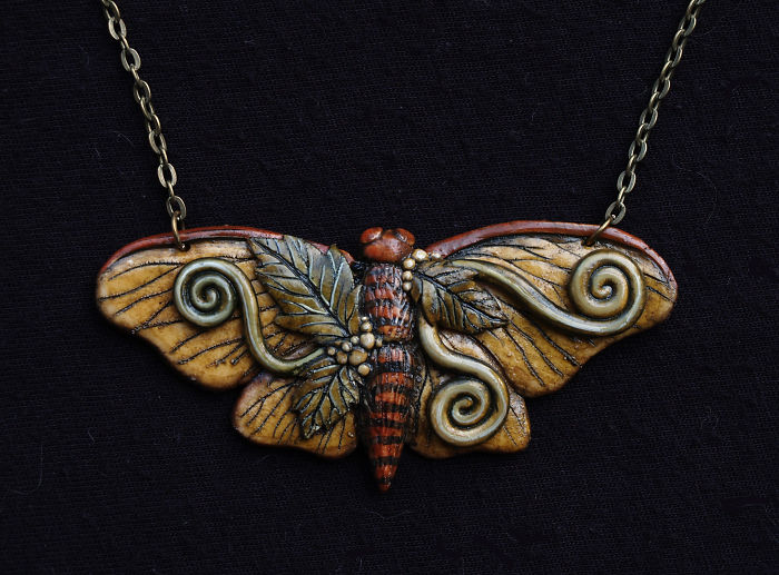I Make Nature Inspired Jewelry With Polymer Clay And Stone