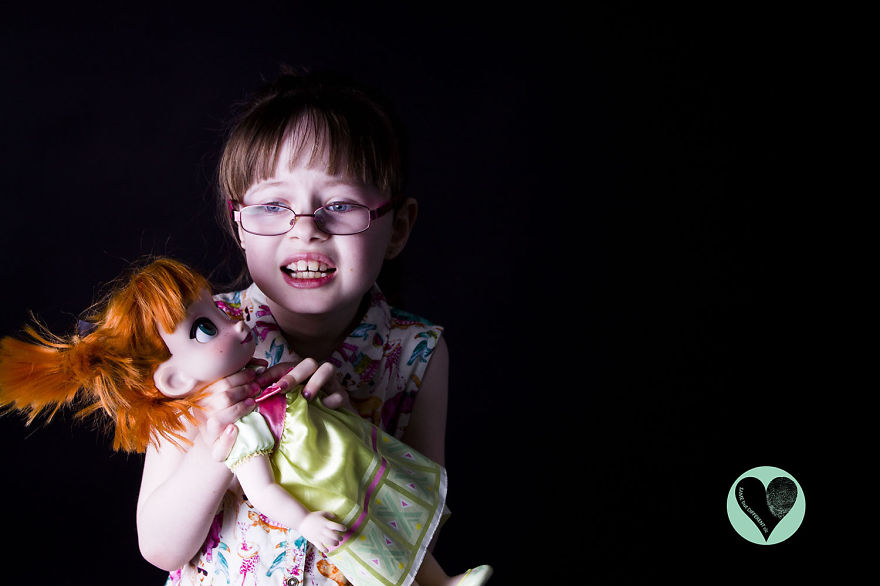 I Photograph Children With Rare Diseases To Encourage ...