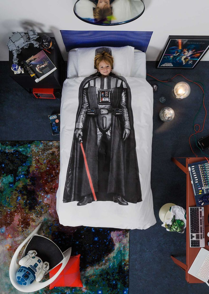 I was asked by lucasfilm to design limited edition star for Star wars kids room decor