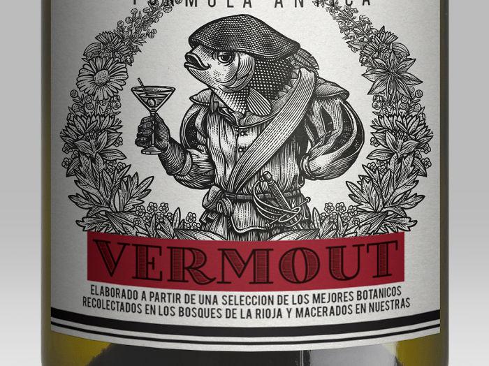 Illustration For Vermouth San Bernabé
