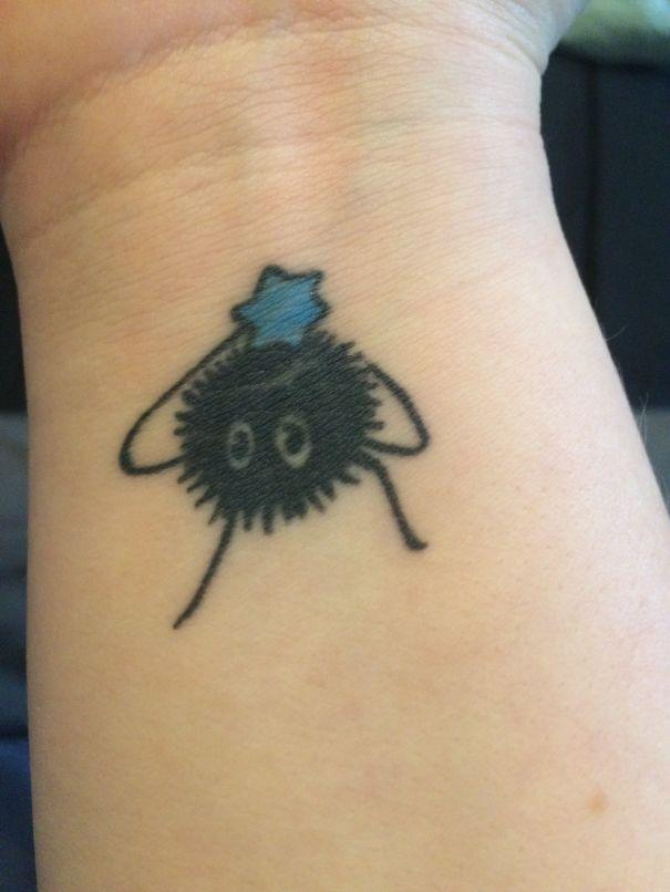 Soot Sprite Tattoo