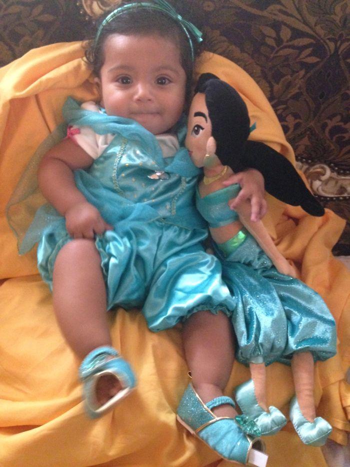 My Princess As Princess Jasmine
