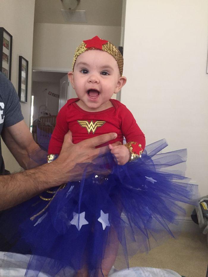 My Daughters First Halloween! Wonder Woman!