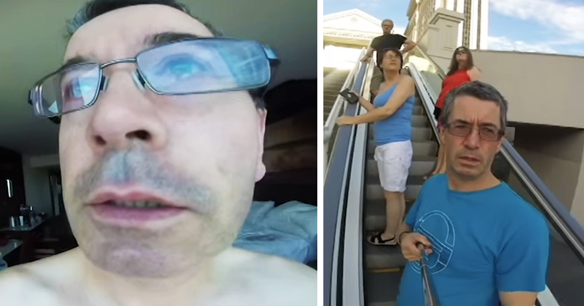 Dad Points His GoPro The Wrong Way During Entire Holiday In Las Vegas