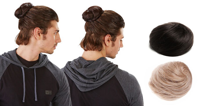 Clip On Man Buns Are Real And Its Too Late To Do Anything Bored Panda