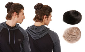 Clip-On Man Buns Are Real And It's Too Late To Do Anything