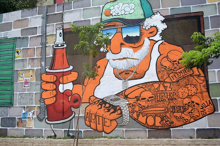 More Than 200 Graffiti Artists Turned 23 De Maio Avenue In São Paulo Into A Work Of Art