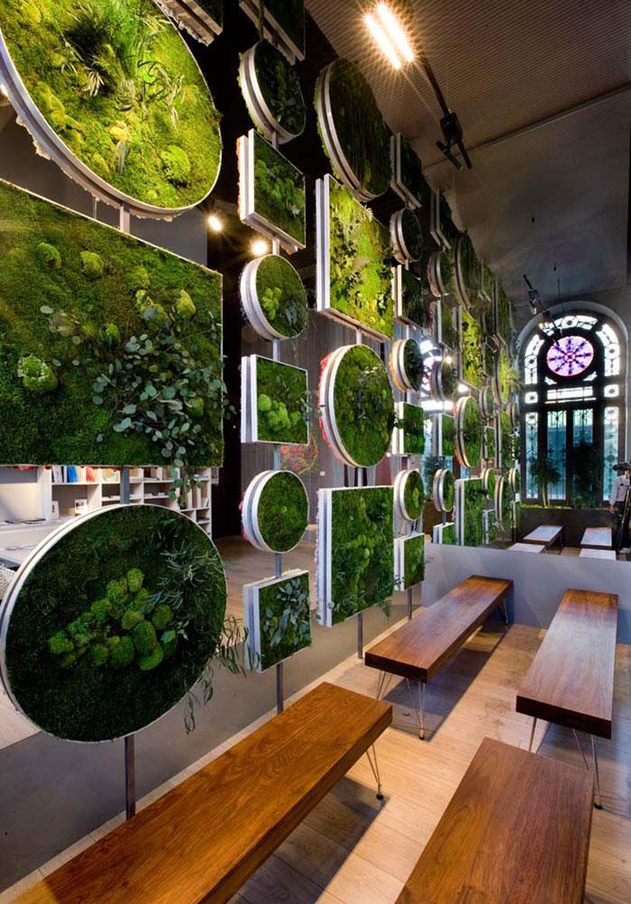 8 Vertical Moss Garden