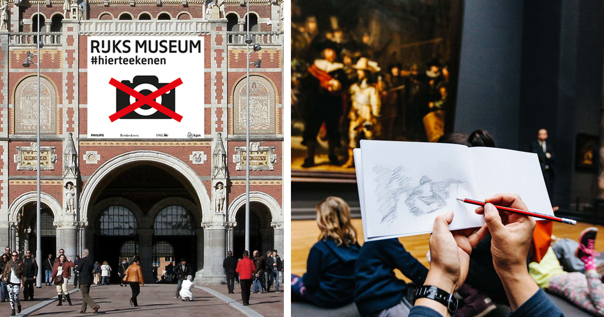 Museum 'Bans' Cameras, Asks People To Sketch Artwork To Truly Appreciate It