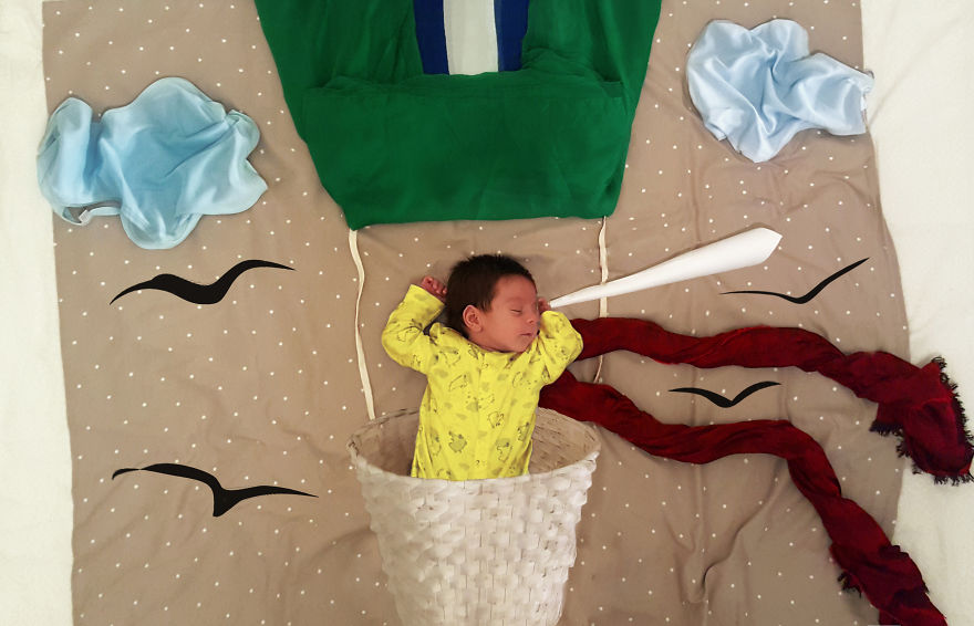My Friend Just Became A Mom And Now She's Creating Fun Photos Of Her Boy (Part 2)