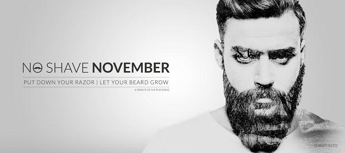 No-shave November- A Tribute