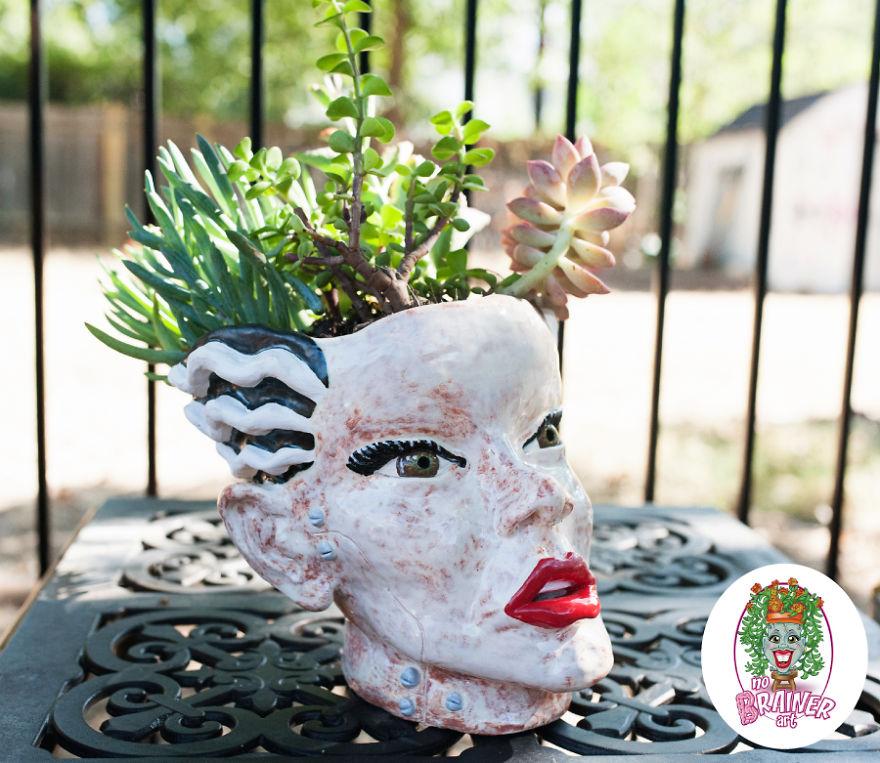 Bride Of Frankenstein By No Brainer Art