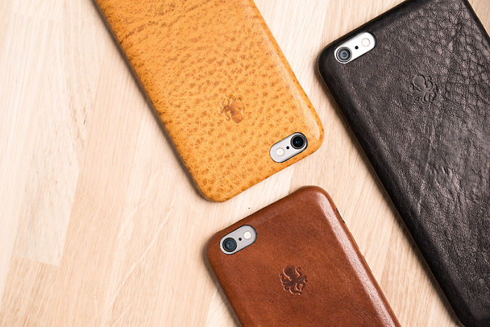 Nodus Can Turn Your Iphone Into A Luxury Leather Magnet
