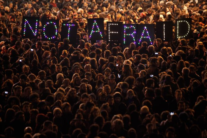 Not Afraid: Picture Of France After Terrorist Attacks Portrays Hope