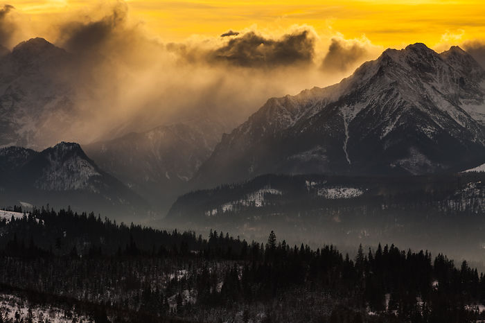 Nothing Can Stop Me From Photographing The Beauty Of The Polish Tatra Mountains