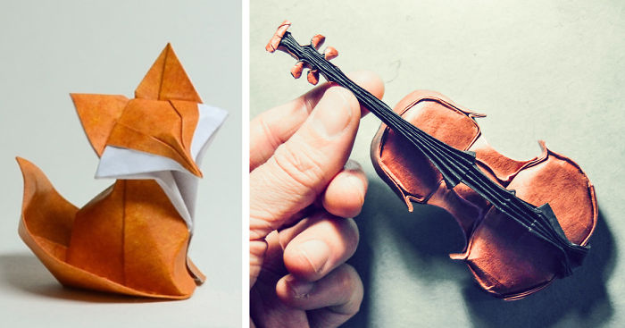 16 Stunning Works Of Origami Art To Celebrate World Origami Day