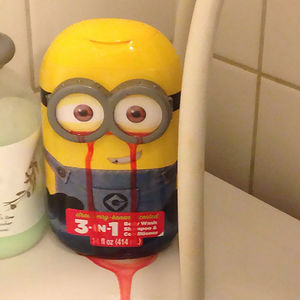 My Mom Bought A Strawberry Scented Minion Shampoo For My Little Brother