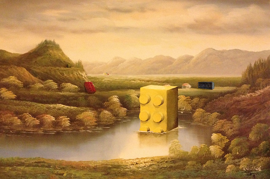 pop-culture-characters-thrift-store-paintings-dave-pollot-10
