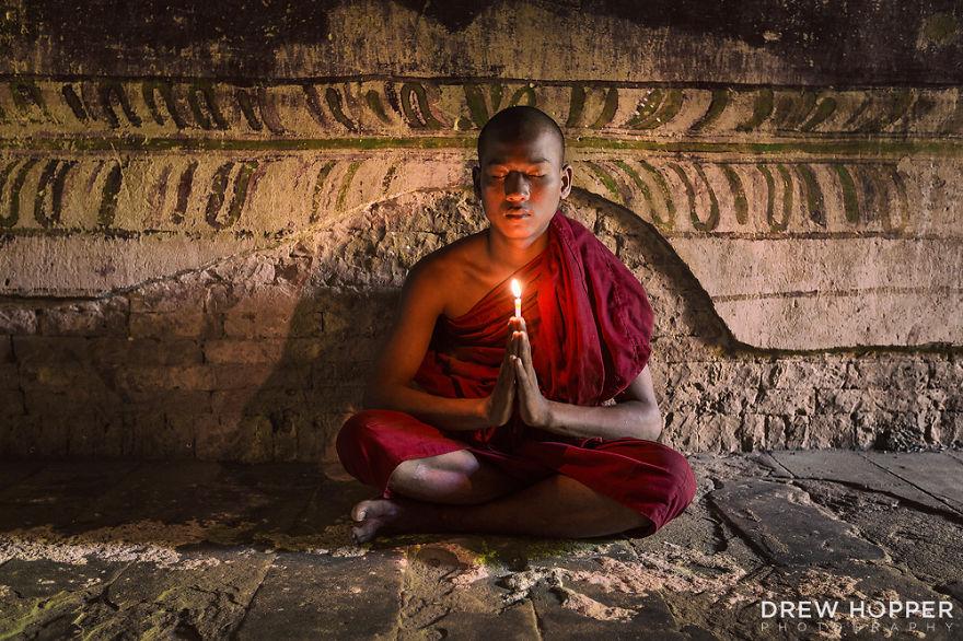 #PrayForParis From Myanmar (Drew Hopper)