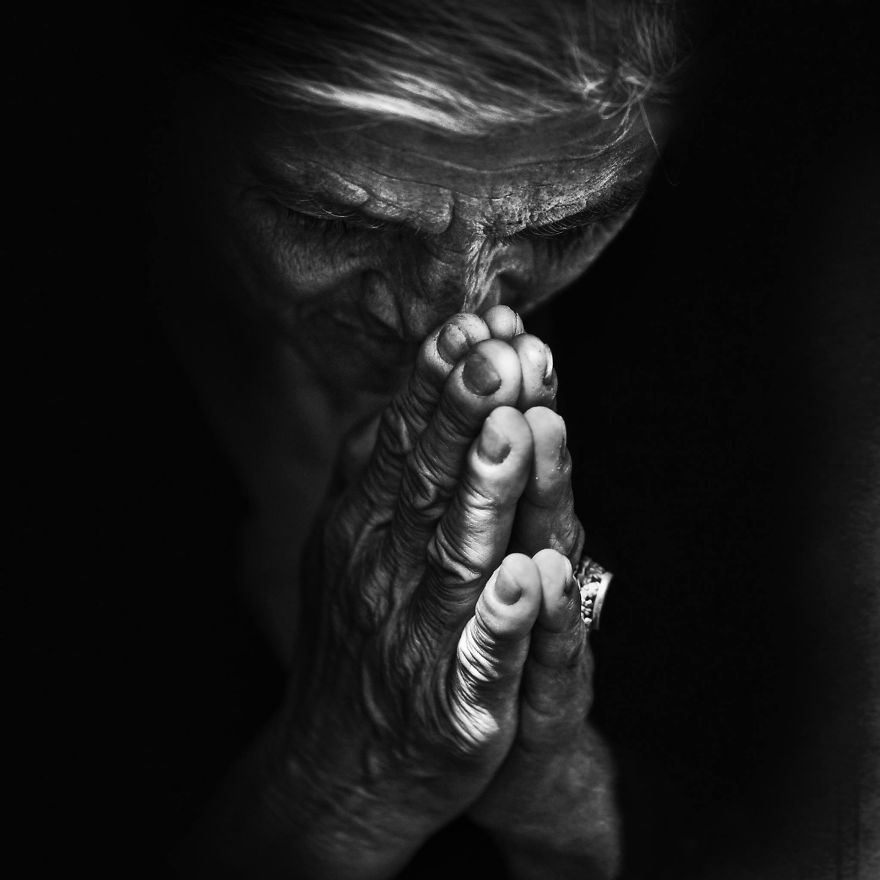 #PrayForParis (Lee Jeffries)