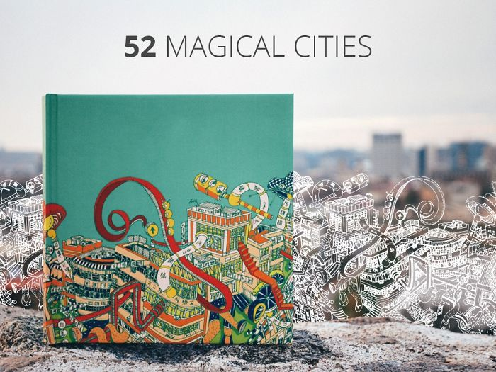 """Project """"52 Magical Cities'' Unites Artists From All Over The World"""