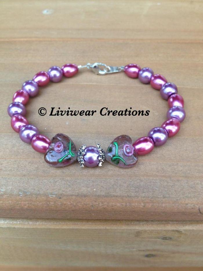 Purple Heart Wrist Candy