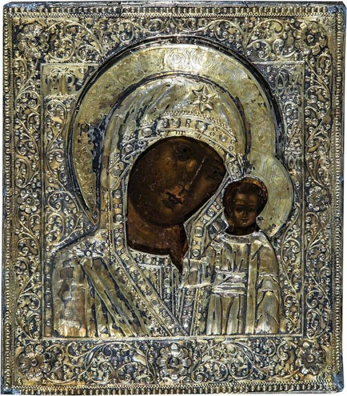 Religious Art Icons From The Bible Our Lady Of Kazan
