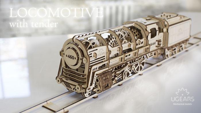 Self-moving Mechanical Models On Kickstarter