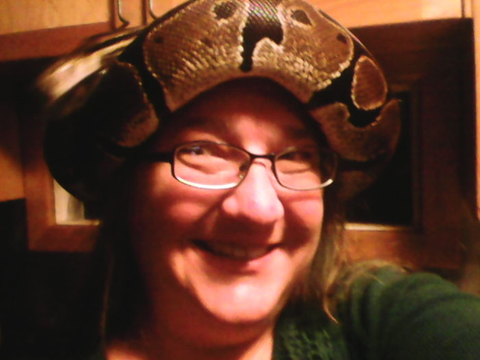 Snake. Hat. What?