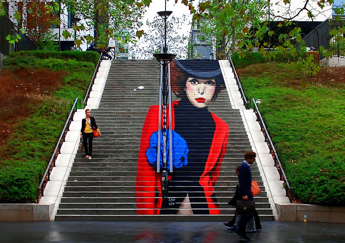 We Turn Boring Stairs Into Works Of Art