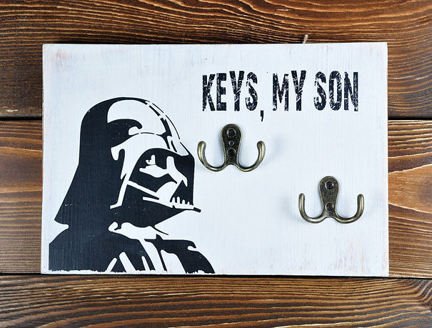 Anahtarlar, Oğlum
