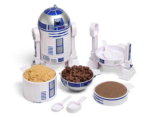 Yıldız Savaşları R2-D2 Kupası Seti Ölçme