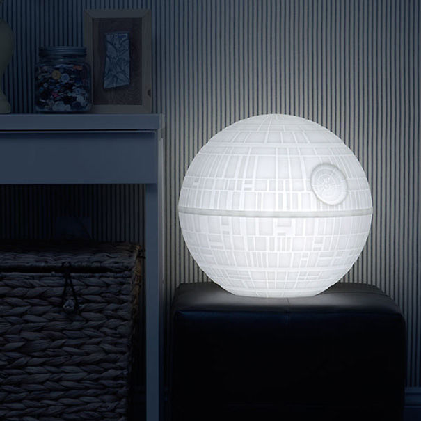 Giant Death Star Indoor/Outdoor Mood Light