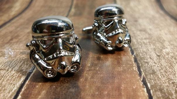 Storm Trooper Cuff Link