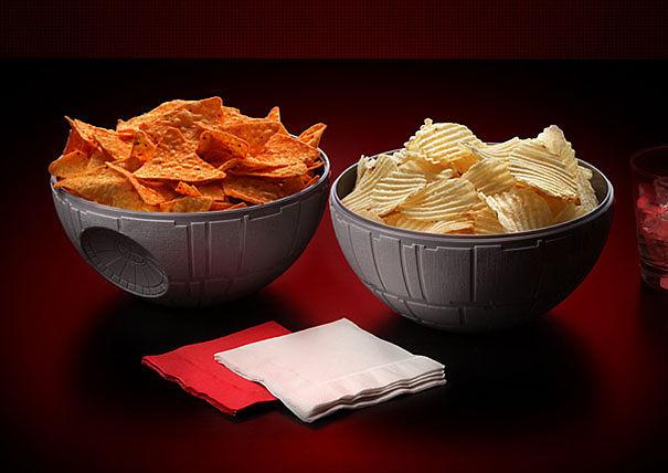 Death Star Chip & Dip Bowls