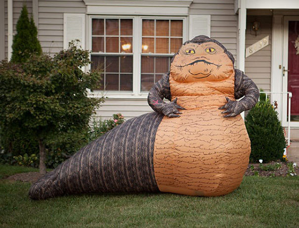 Inflatable Jabba The Hutt Lawn Ornament
