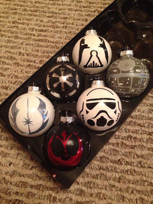 Star Wars Ornaments Set