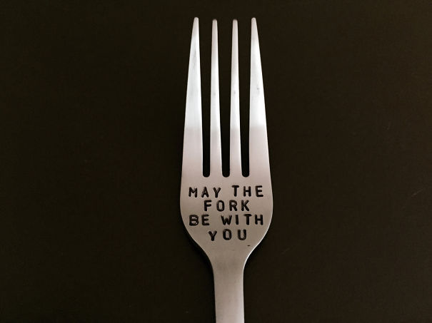 Star Wars Pun Fork