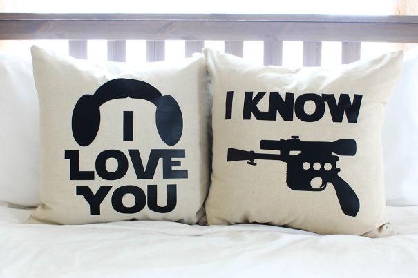 Yıldız Savaşları I Yastık Set bilin / Love You