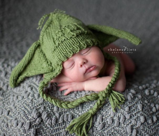Bebek Yoda Şapka
