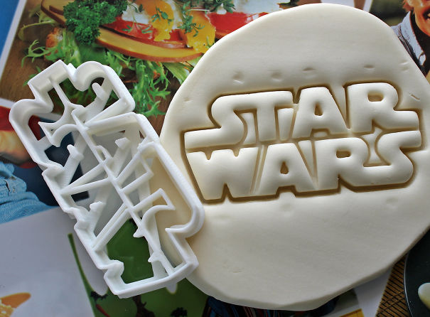 Star Wars Letters Cookie Cutter