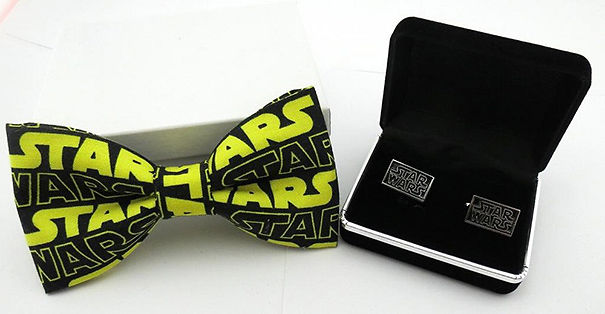 Star Wars Bow Tie And Cuff Links