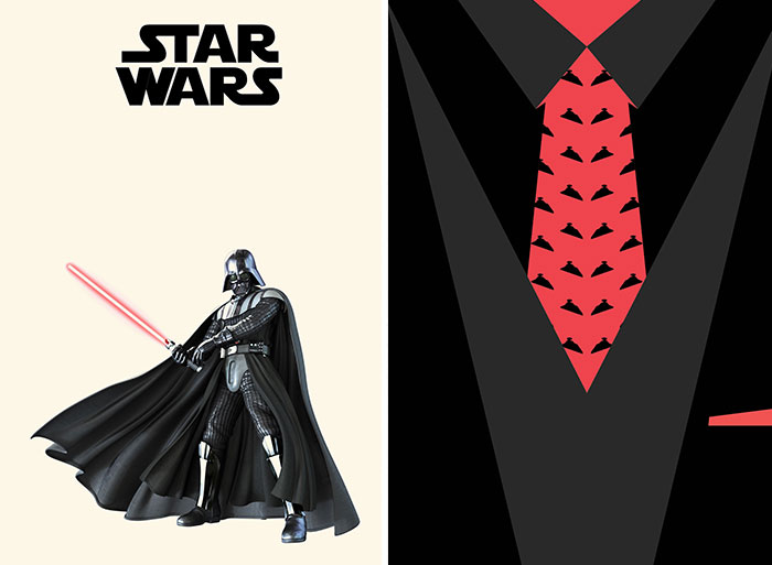 4 Minimalist Suit Designs Inspired By Star Wars