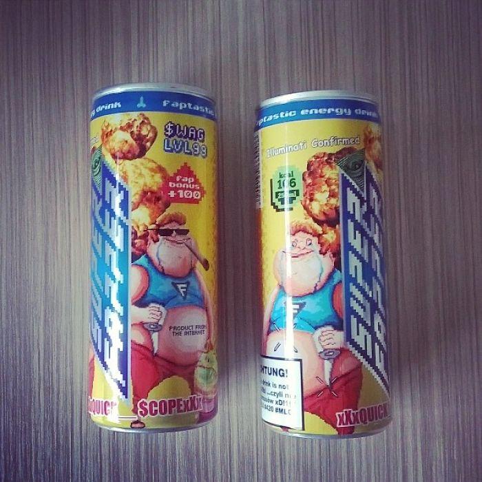 Super Fapper Energy Drink