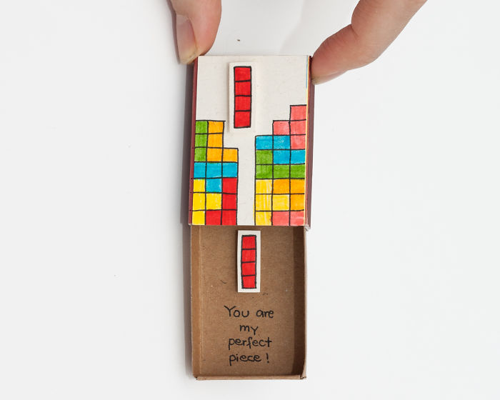 Tetris Love Card - You Are My Perfect Piece!