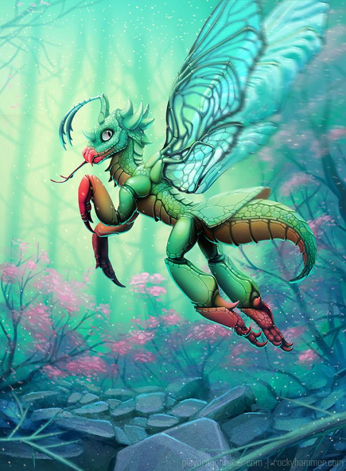The Artwork Of Dragon Racer